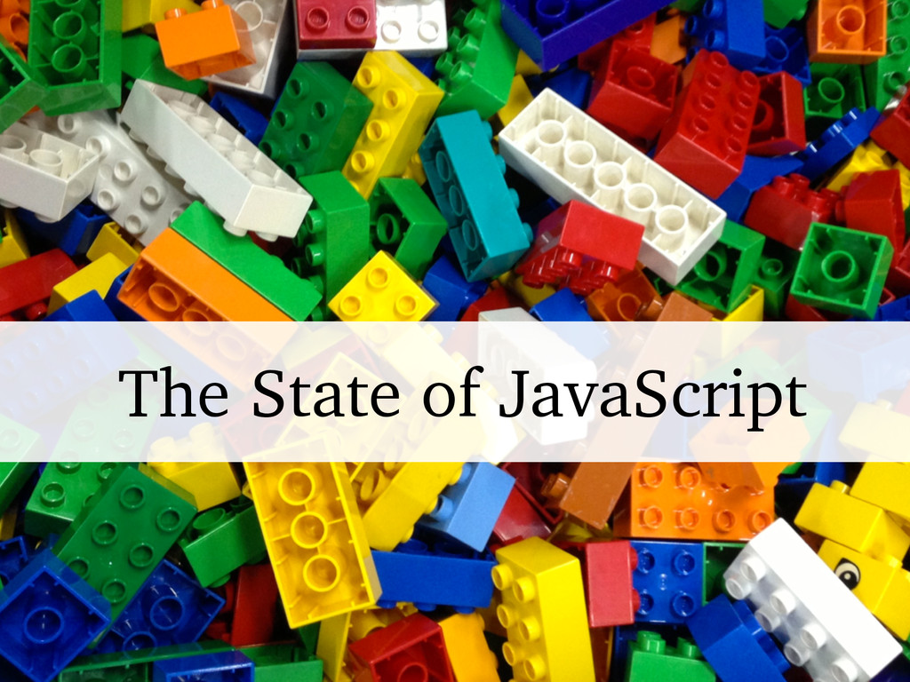 The State of JavaScript