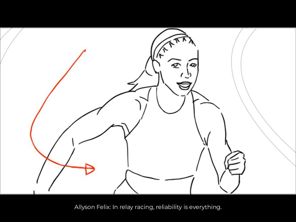 Allyson Felix: In relay racing, reliability is ...