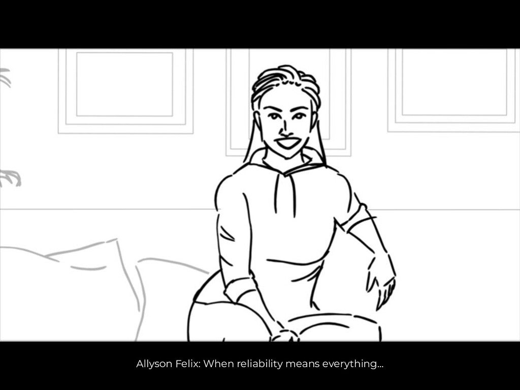 Allyson Felix: When reliability means everythin...