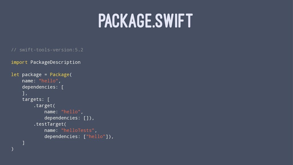 PACKAGE.SWIFT // swift-tools-version:5.2 import...
