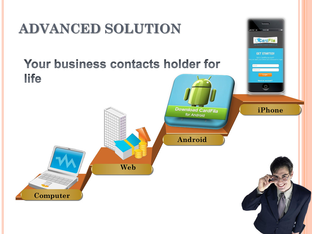 ADVANCED SOLUTION Computer Web Android iPhone