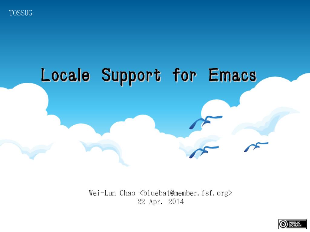 Wei-Lun Chao <bluebat@member.fsf.org> 22 Apr. 2...