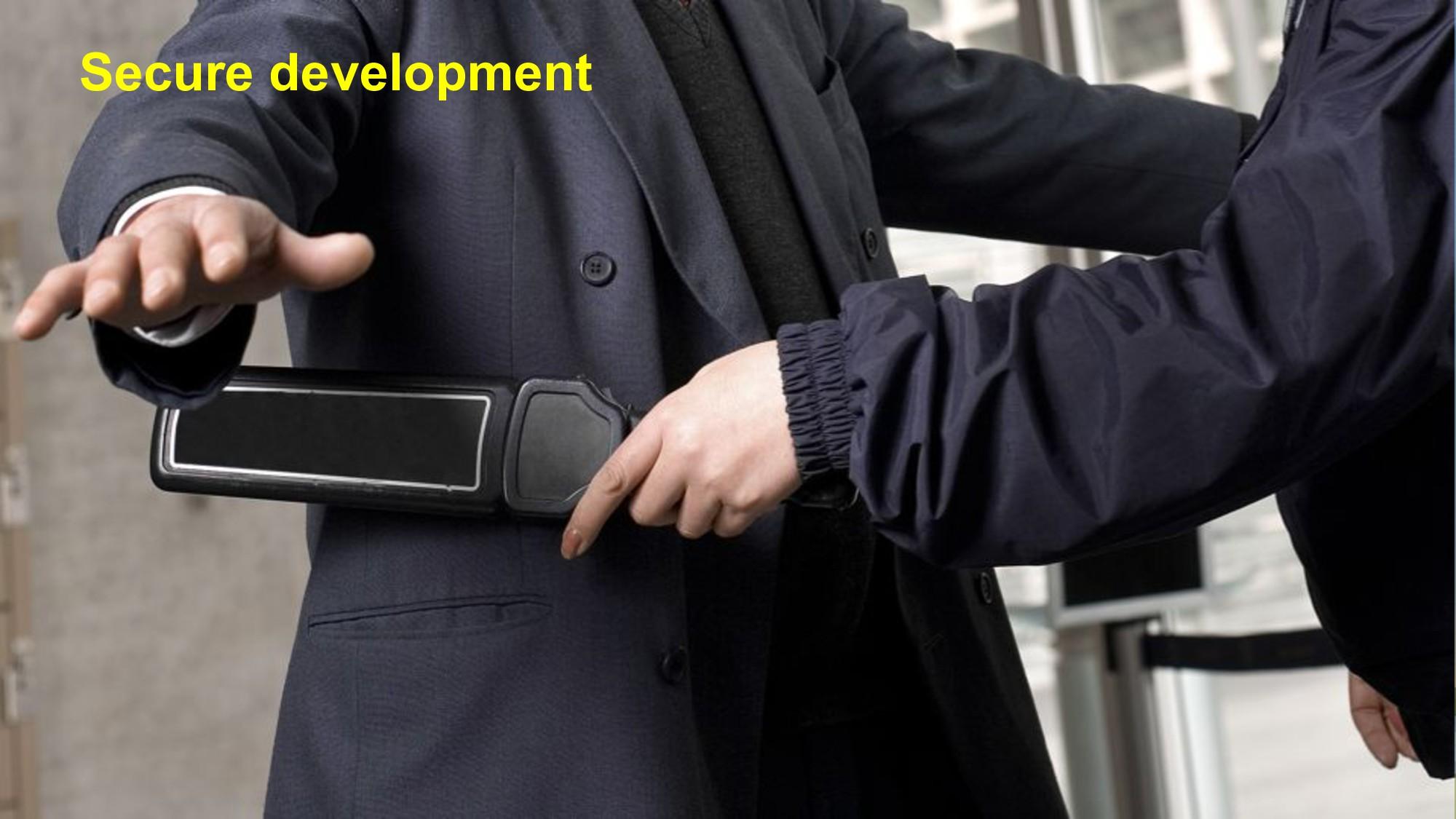 Secure development