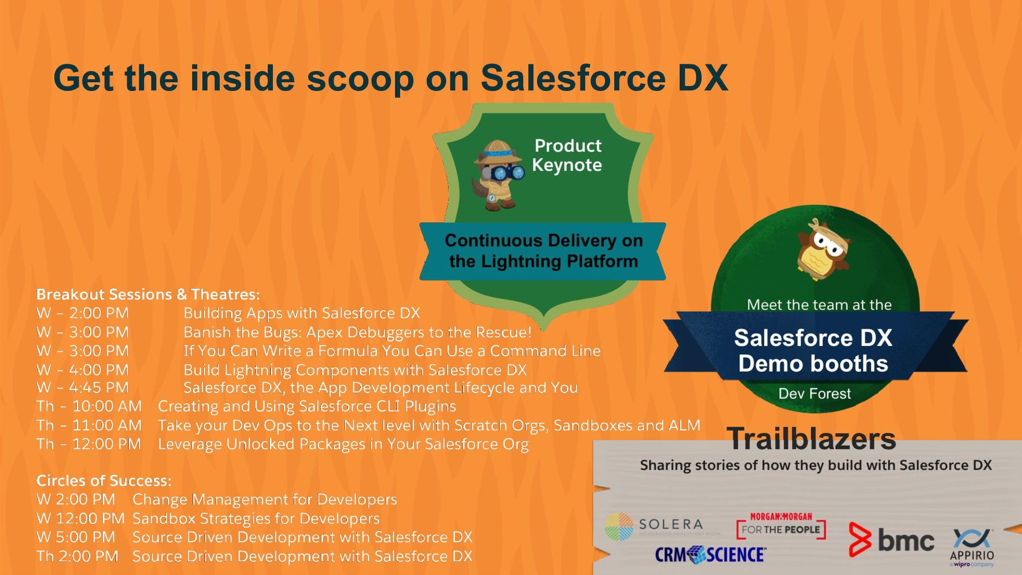 Get the inside scoop on Salesforce DX