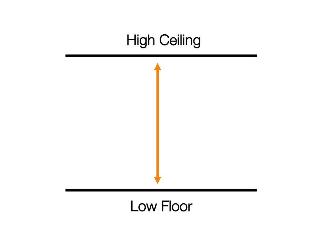 Low Floor High Ceiling