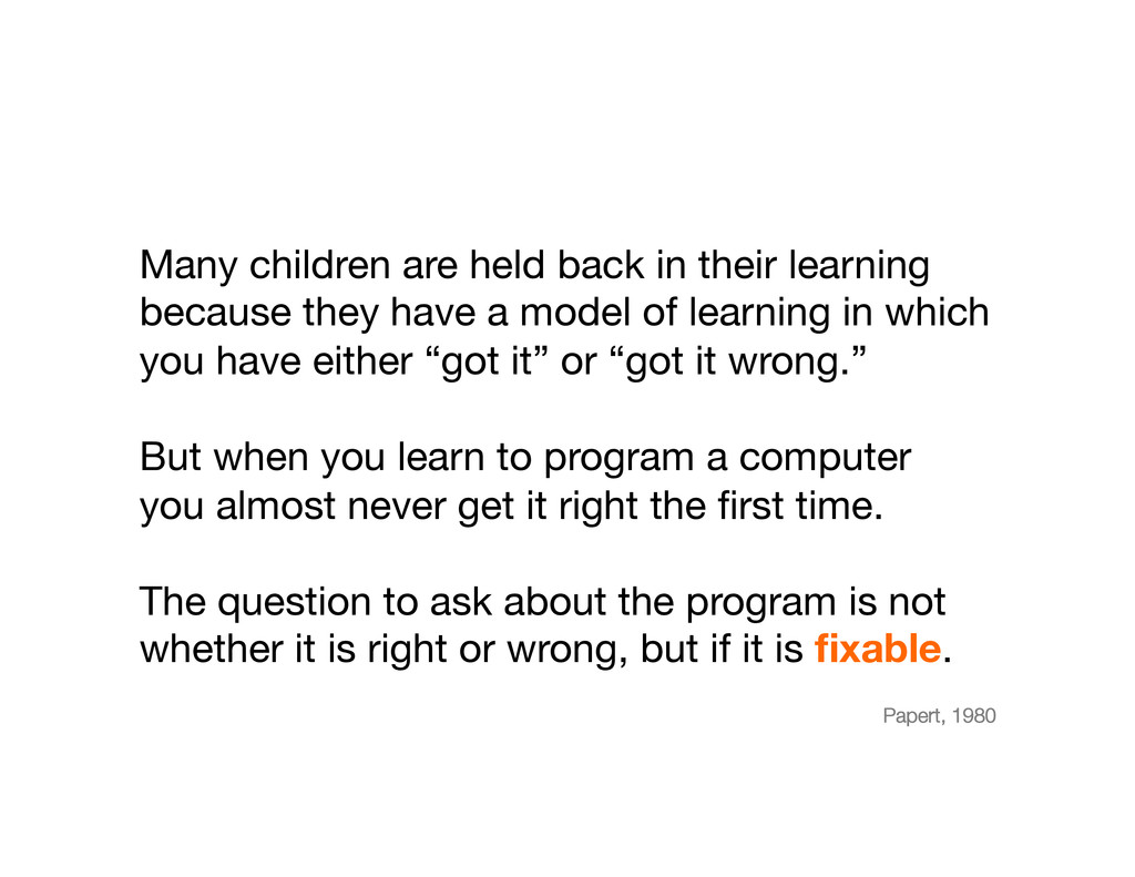Many children are held back in their learning b...