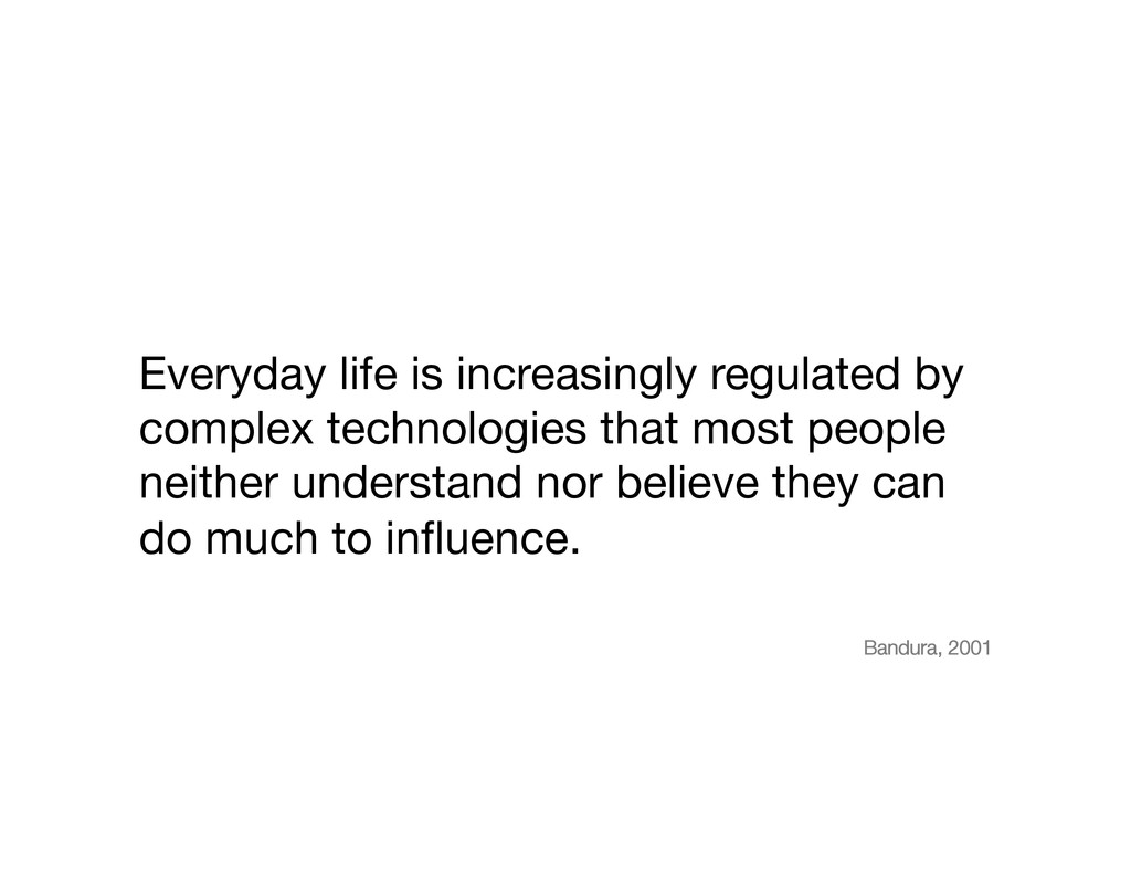 Everyday life is increasingly regulated by comp...