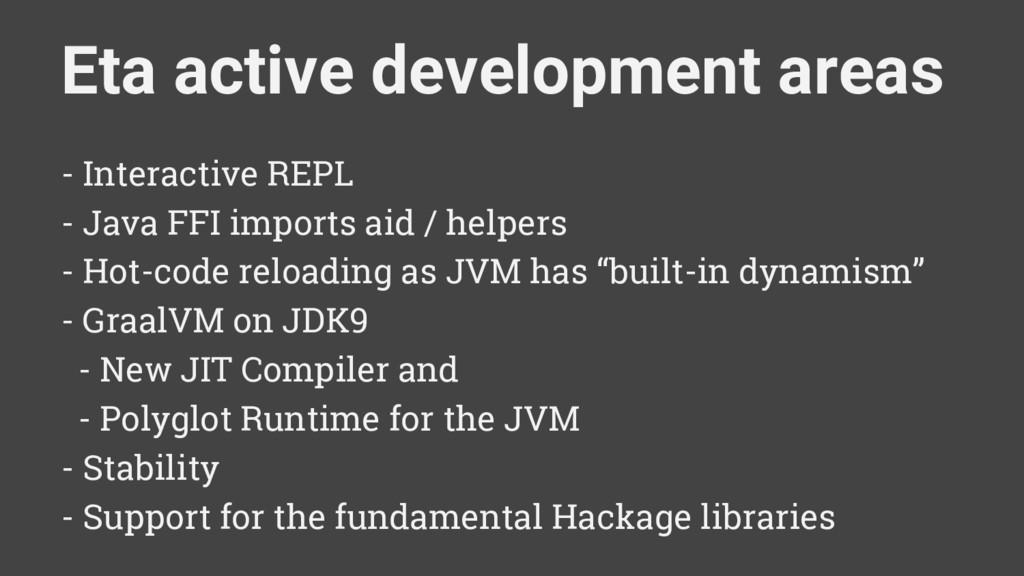 - Interactive REPL - Java FFI imports aid / hel...