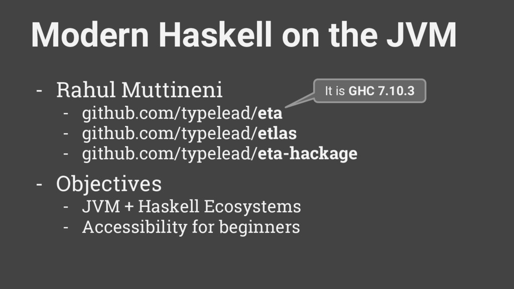 Modern Haskell on the JVM - Rahul Muttineni - g...