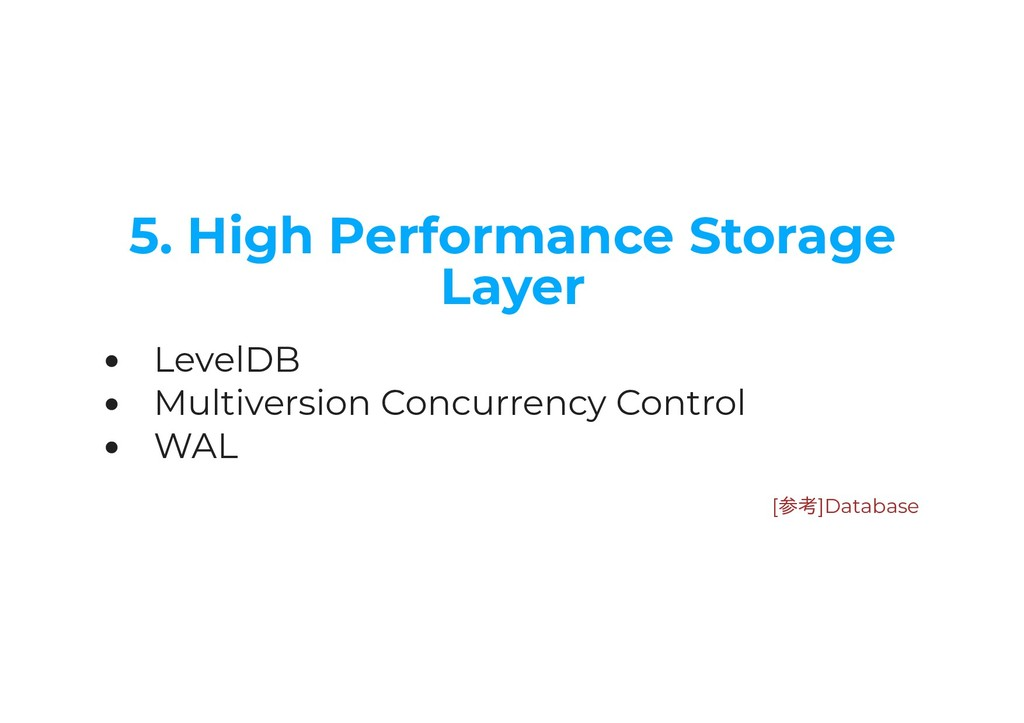 5. High Performance Storage Layer LevelDB Multi...