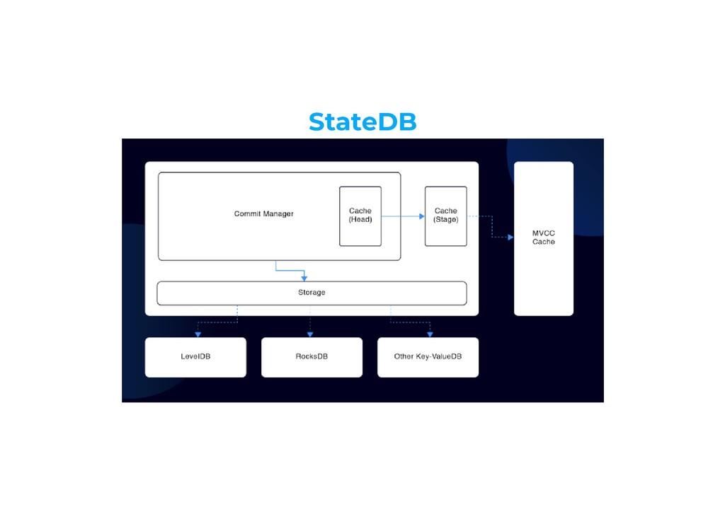 StateDB