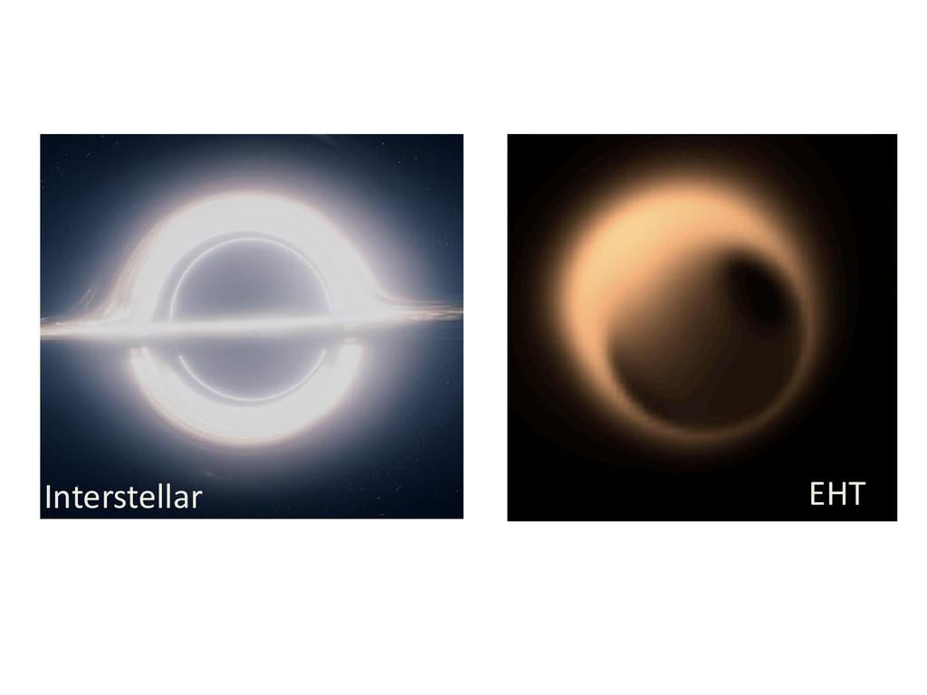 Interstellar EHT