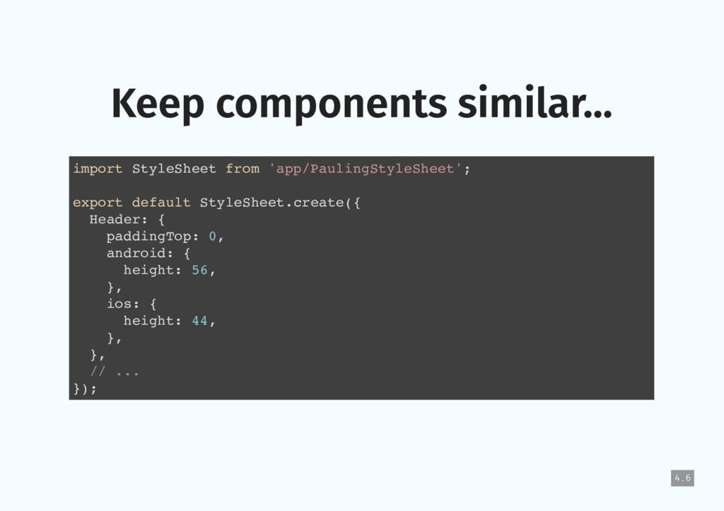 import StyleSheet from 'app/PaulingStyleSheet';...