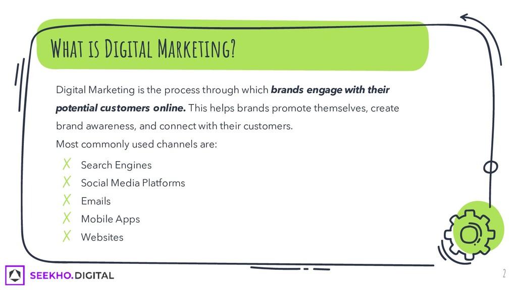 What is Digital Marketing? 2 Digital Marketing ...