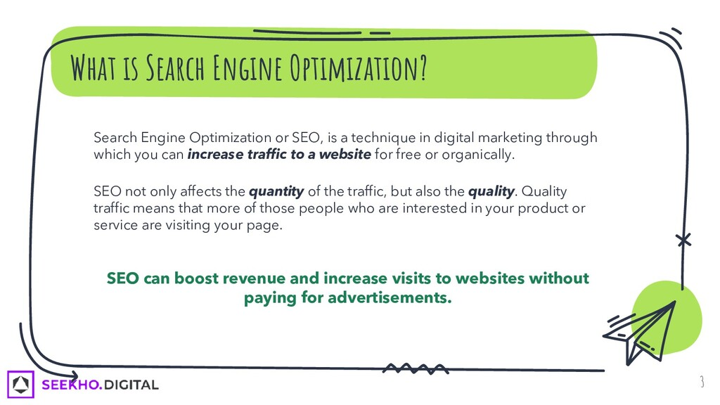 What is Search Engine Optimization? Search Engi...