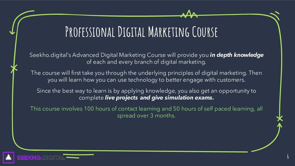 Seekho.digital's Advanced Digital Marketing Cou...