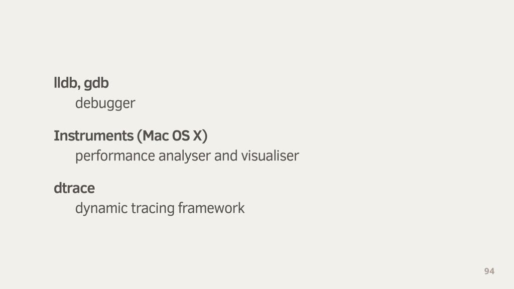 94 lldb, gdb debugger Instruments (Mac OS X) pe...