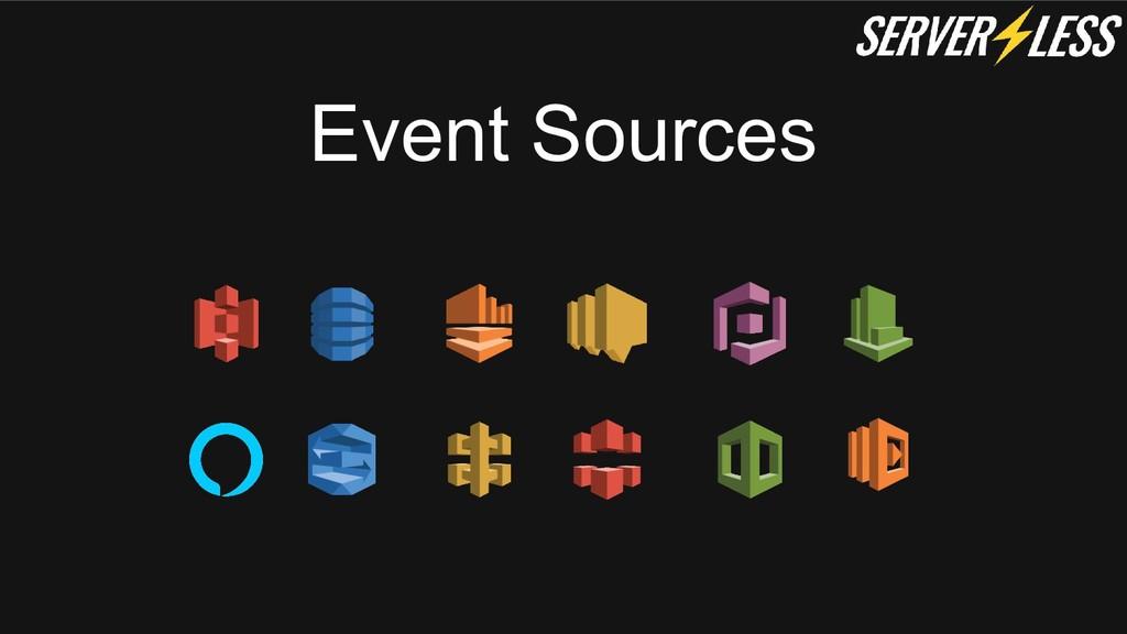 Event Sources