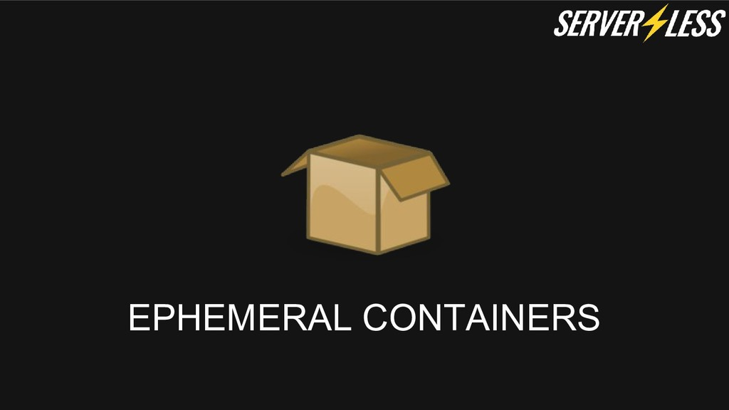 EPHEMERAL CONTAINERS