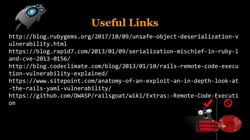 Useful Links http://blog.rubygems.org/2017/10/0...