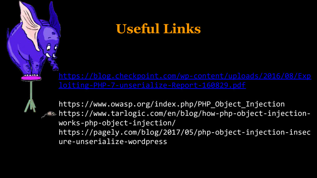 Useful Links https://blog.checkpoint.com/wp-con...