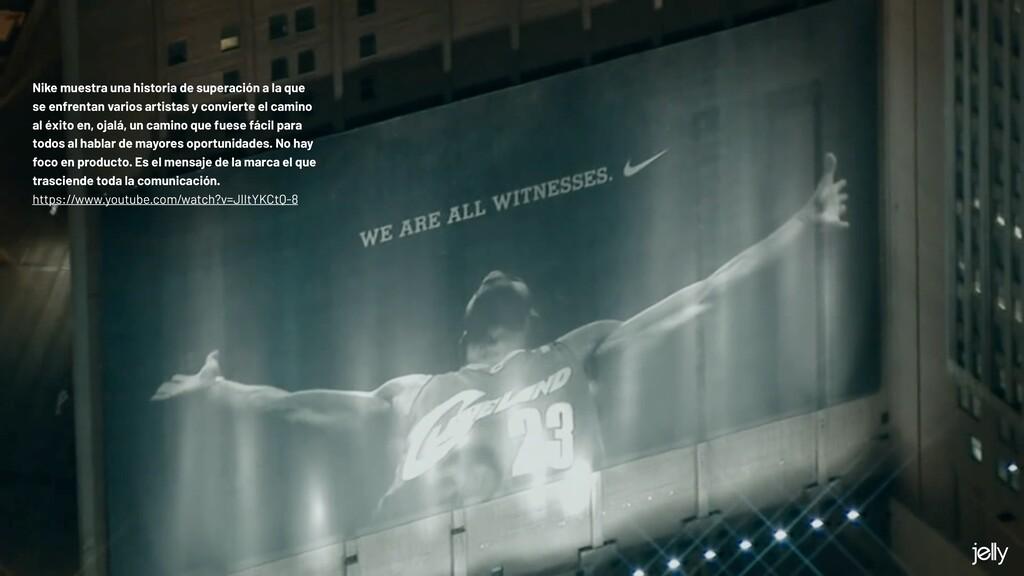 Nike muestra una historia de superación a la qu...