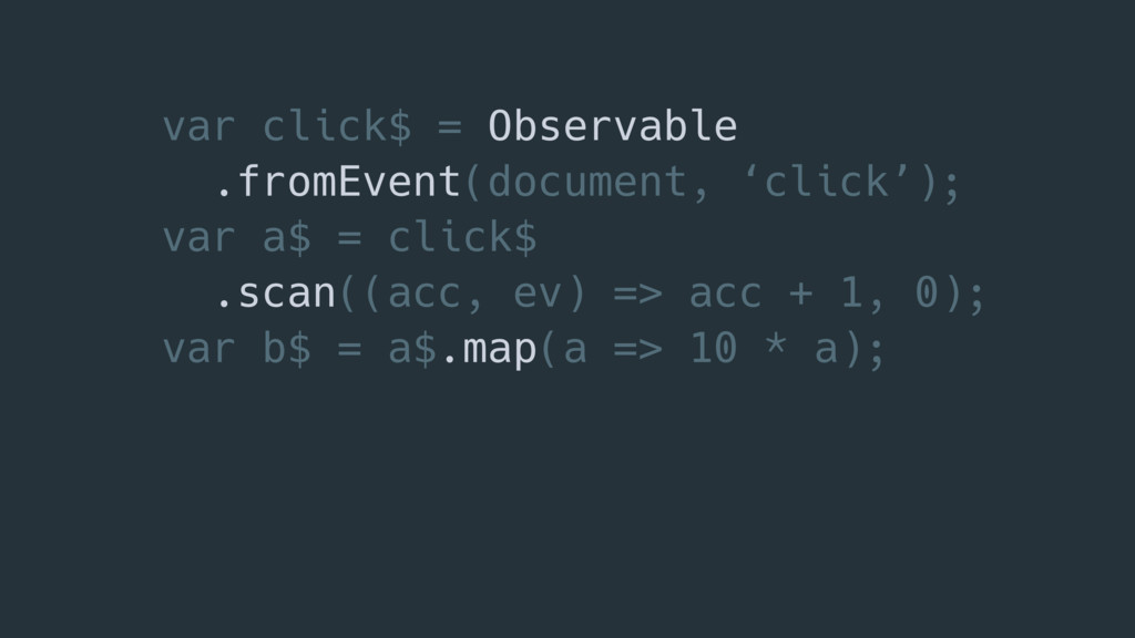 var click$ = Observable