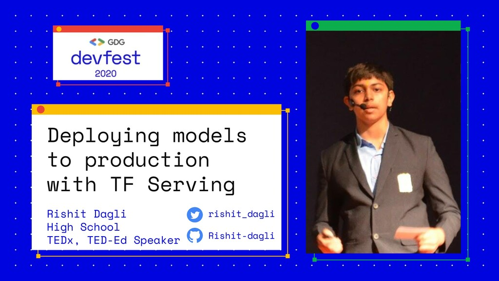 Deploying models to production with TF Serving ...