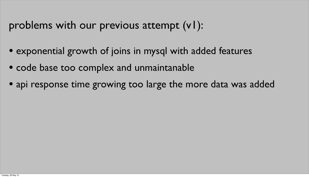 • exponential growth of joins in mysql with add...