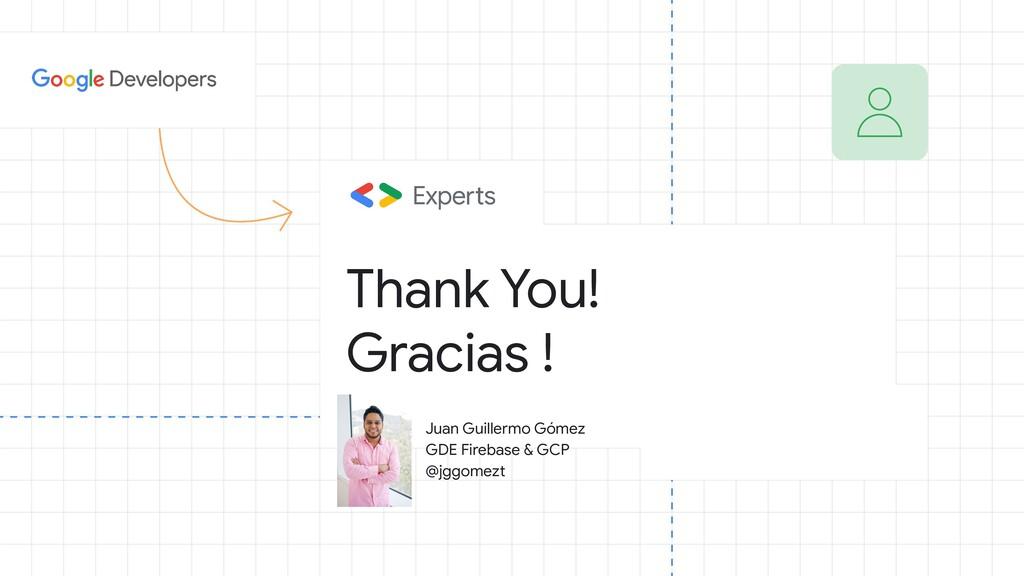 Thank You! Gracias ! Juan Guillermo Gómez GDE F...