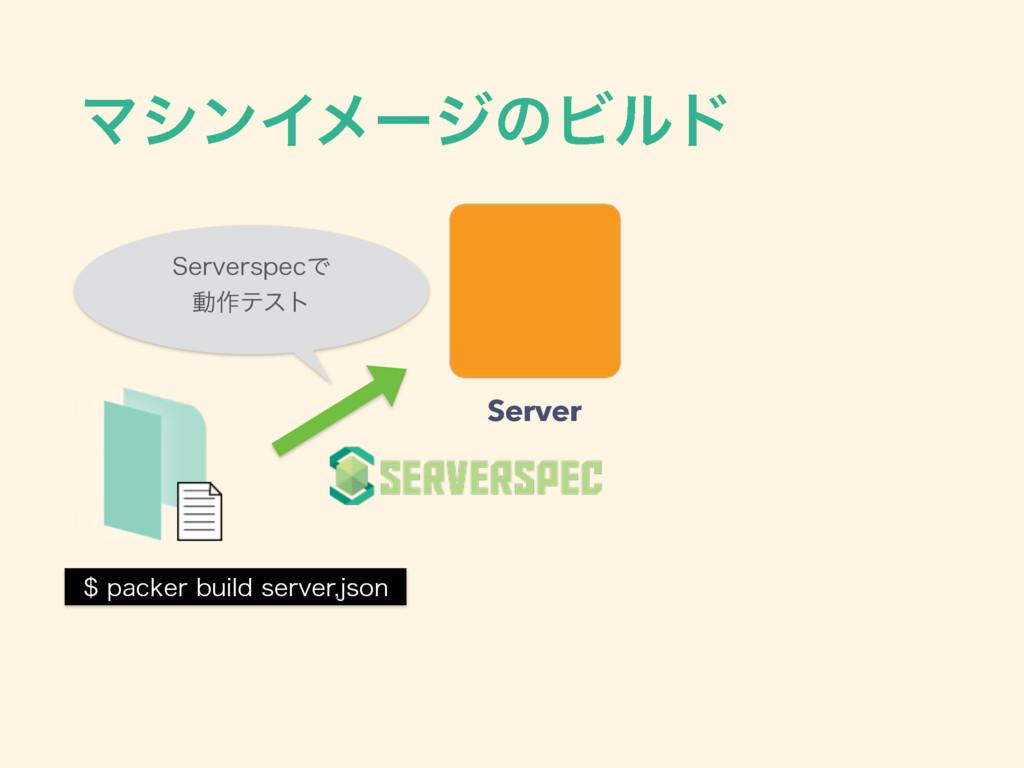 ϚγϯΠϝʔδͷϏϧυ QBDLFSCVJMETFSWFSKTPO Server 4...