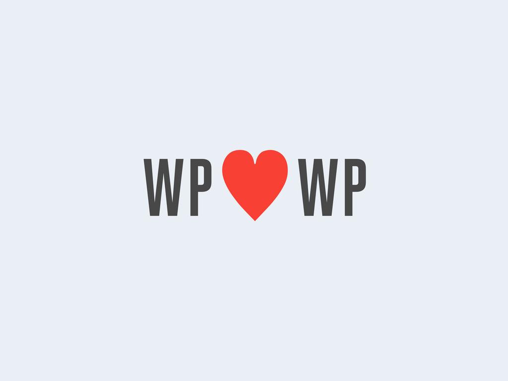 WP—WP