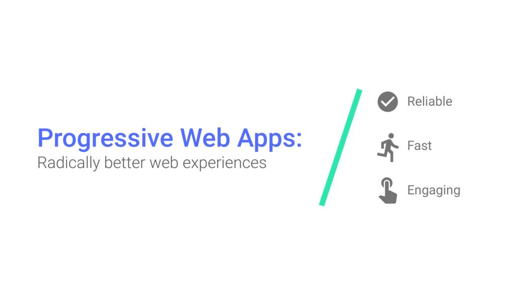 Progressive Web Apps: Radically better web exp...