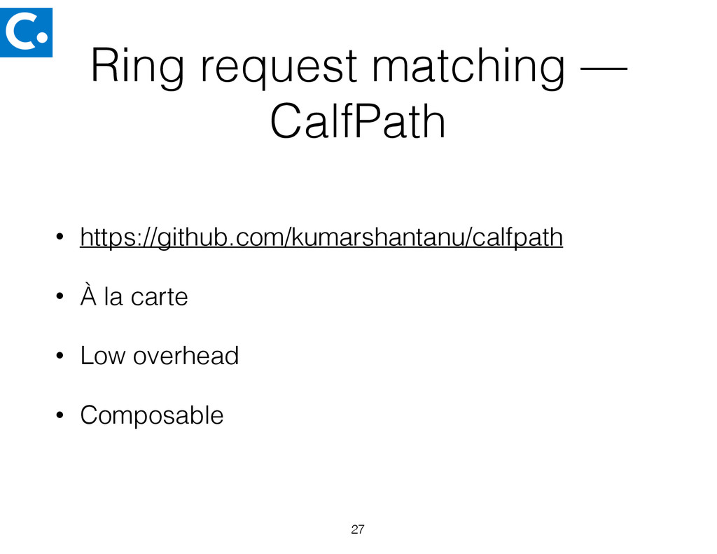 Ring request matching — CalfPath • https://gith...