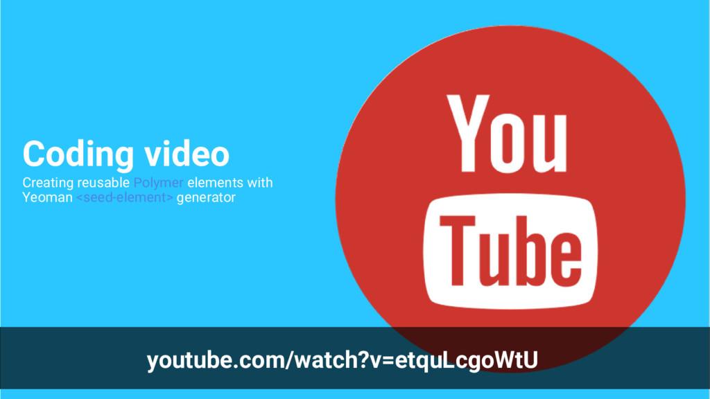 youtube.com/watch?v=etquLcgoWtU Coding video Cr...