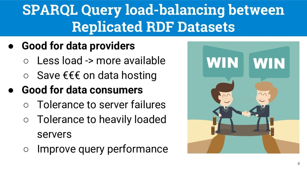 SPARQL Query load-balancing between Replicated ...