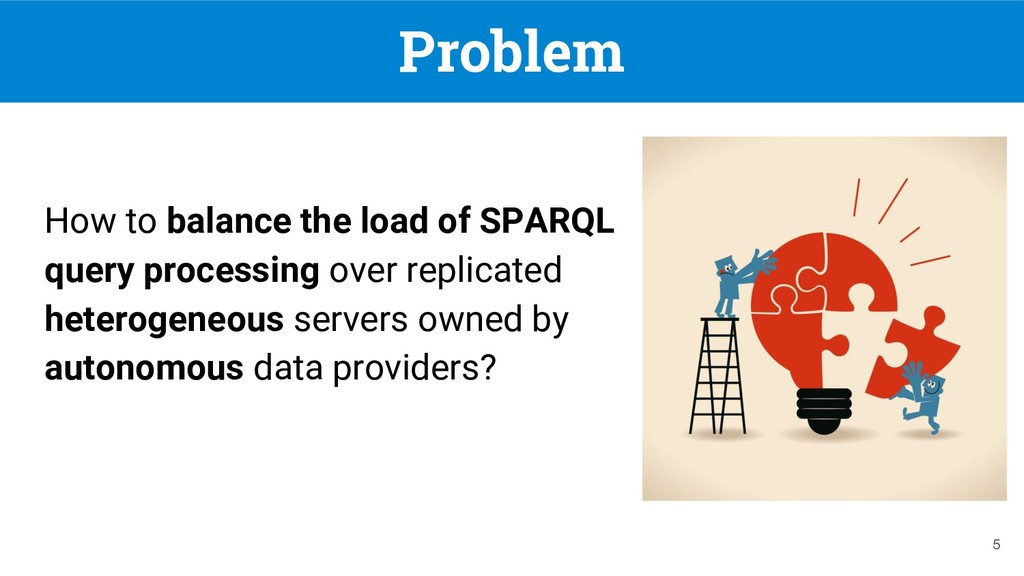 Problem How to balance the load of SPARQL query...