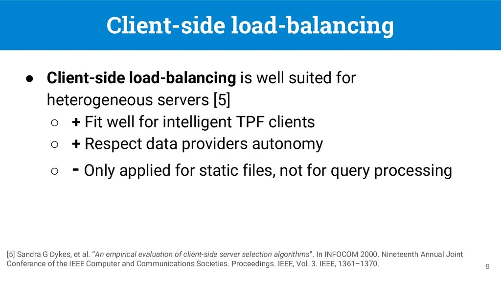 Client-side load-balancing ● Client-side load-b...