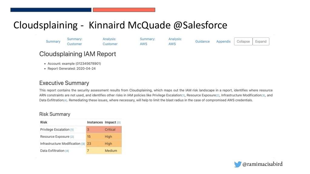 @ramimacisabird Cloudsplaining - Kinnaird McQua...