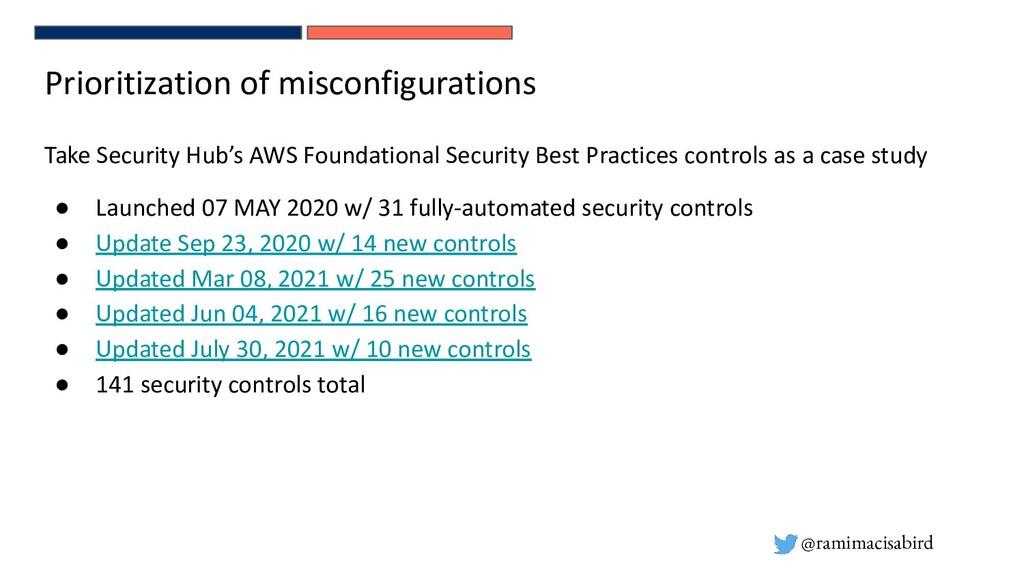 @ramimacisabird Prioritization of misconfigurat...