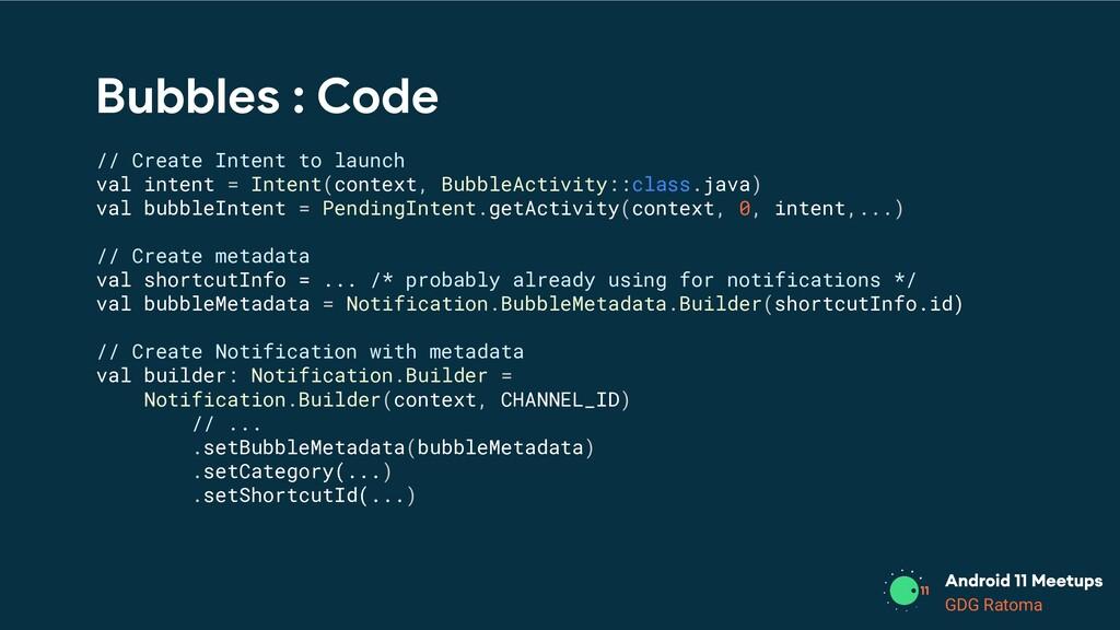 GDG Location GDG Ratoma Bubbles : Code // Creat...