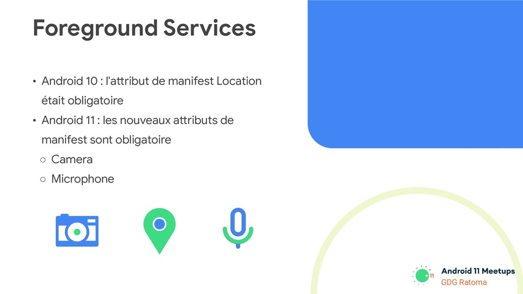 GDG Location GDG Ratoma • Android 10 : l'attrib...