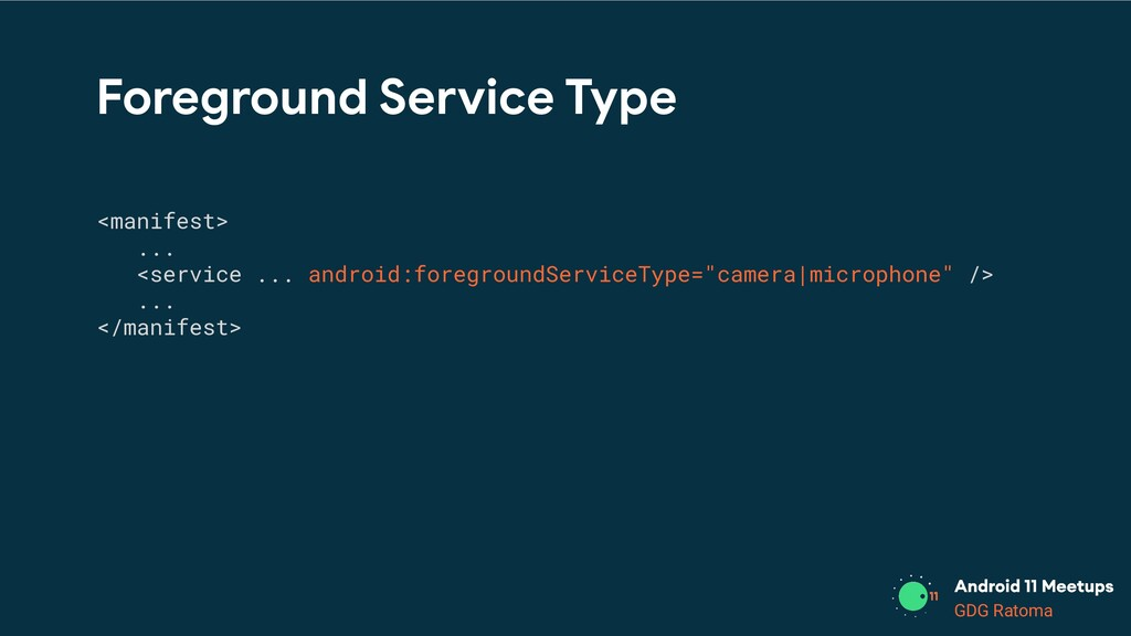 GDG Location GDG Ratoma Foreground Service Type...