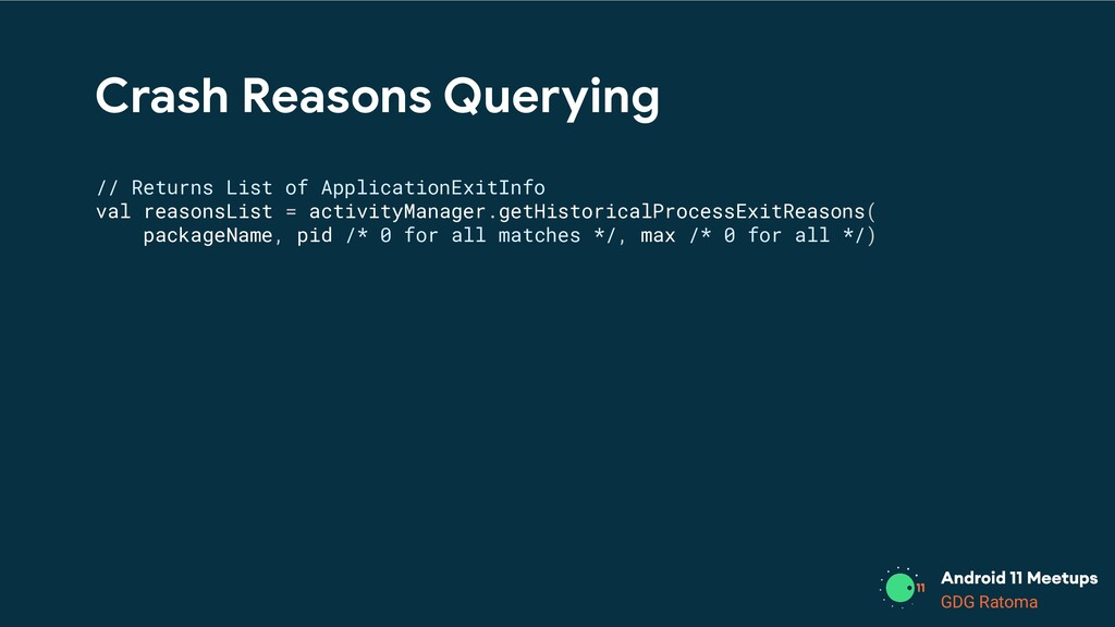 GDG Location GDG Ratoma Crash Reasons Querying ...