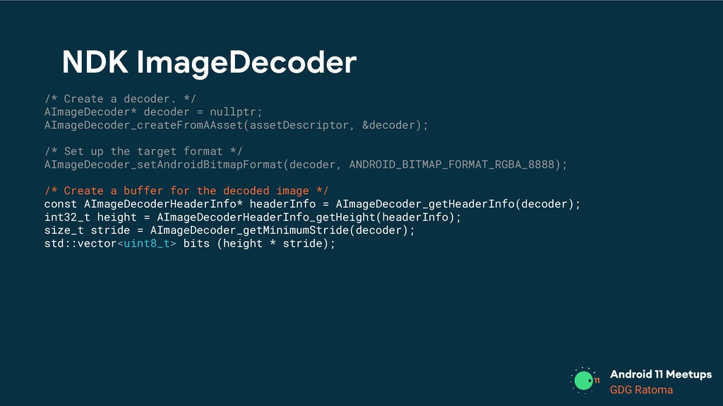 GDG Location GDG Ratoma /* Create a decoder. */...