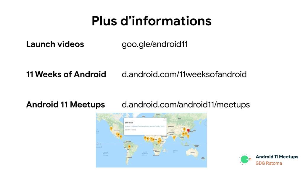 GDG Location GDG Ratoma Plus d'informations Lau...