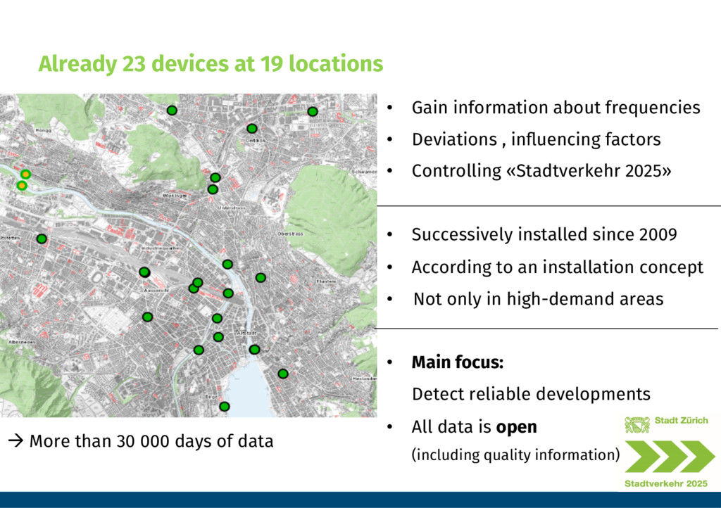 Already 23 devices at 19 locations • Gain inf...