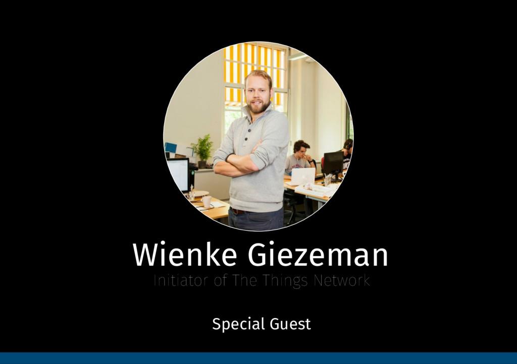 Wienke Giezeman Initiator of The Things Networ...