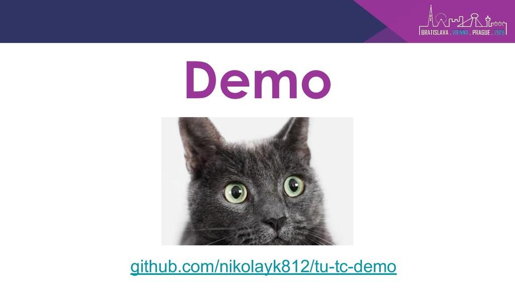 Demo github.com/nikolayk812/tu-tc-demo