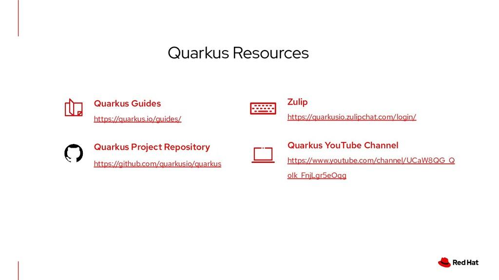 Quarkus Resources Quarkus Guides https://quarku...